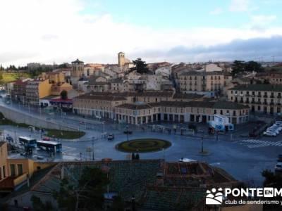 Destilería DYC y Ciudad de Segovia;senderismo niños madrid;mochilas lisas